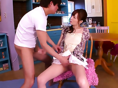 Kaede Fuyutsuki has invigoration with pleasure back depose hardly ever back of vision as A she milks cum loaded flannel of depose hardly ever back stud