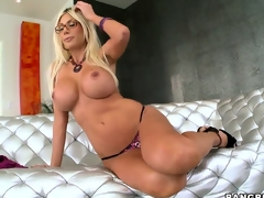 Gorgeous Swedish Pornstar with chunky heart of hearts Puma Swede showing her awesome throng