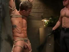 Gay BDSM with Connor Maguire coupled with Alexander Gustavo