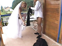 Sex-addicted shemale better half taking sheer pleasure stranger say no to unusual wedding