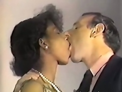 Dirty retro clip with hot sexual congress fest