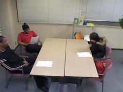 Petite Japanese slut got shagged hard essentially an interview