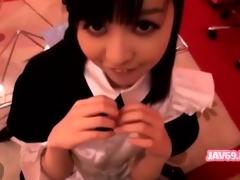 Shy Japanese Floosie Shacking up