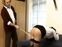 Sophia caning