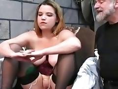 Heavy female got punished