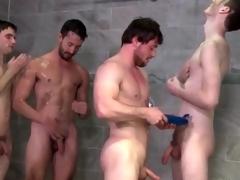 Several cumshots exceeding a innocent gay bottom