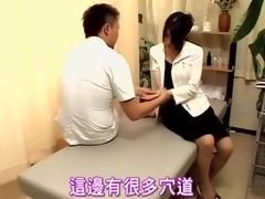 Relaxing oily kneading loopings earn hardcore Japanese fucking